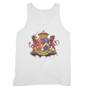 Five Alarm Funk - Crest - White Unisex Tank Top
