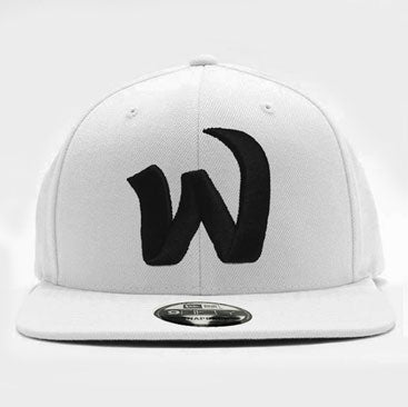 Ephwurd -W- White New Era Snapback Hat