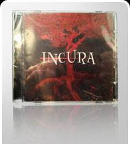 AUTOGRAPHED INCURA -Self Titled- CD - 2013