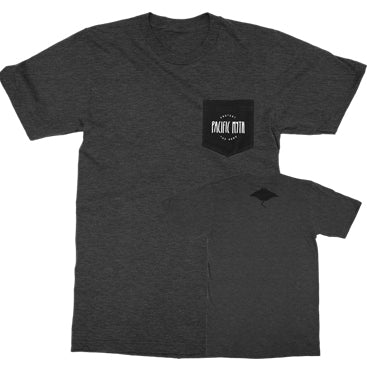 PROTEST THE HERO - Pacific Myth - Charcoal Gray Pocket Tee