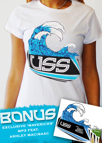 U.S.S. Maverick T-Shirt/MP3 Bundle Pack - GIRLS