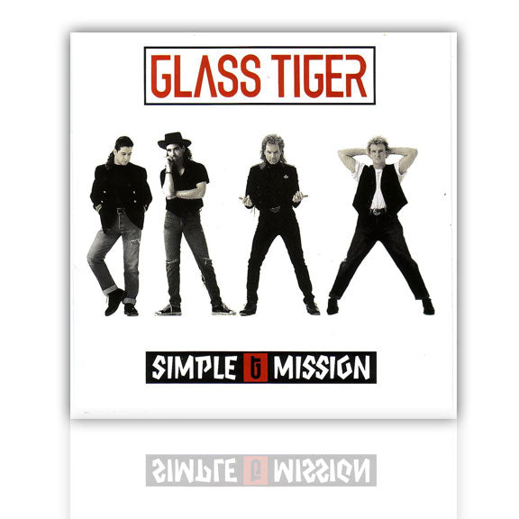 GLASS TIGER -Simple Mission- CD