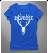 THE REAL MCKENZIES -Stag- GIRLS T-Shirt - Royal Blue
