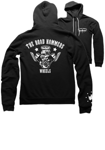 THE ROAD HAMMERS Engine Zip Up Hoodie