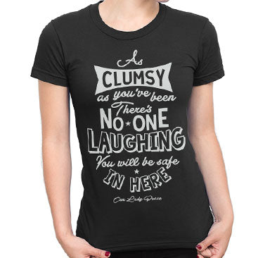 Our Lady Peace - Clumsy Ladies Tee - Black