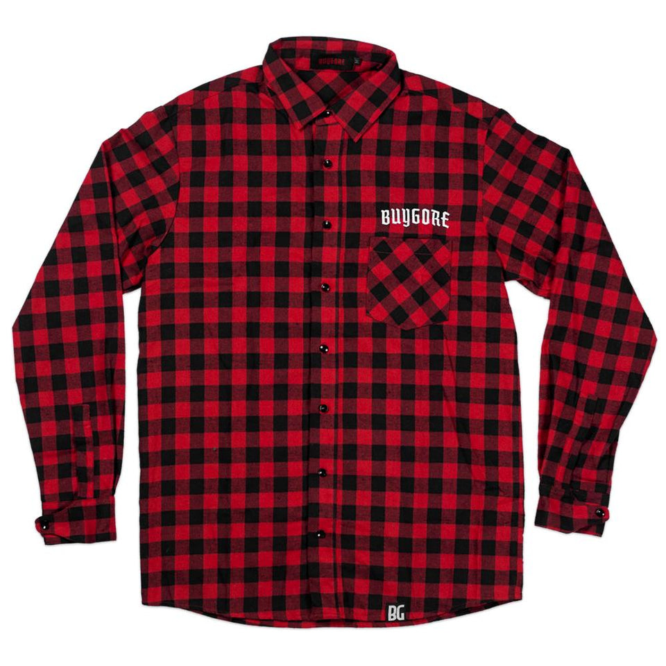 Buygore - Natas - Flannel Shirt