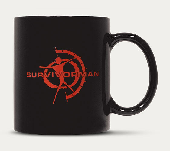 Survivorman - Coffee Mug - Red Logo