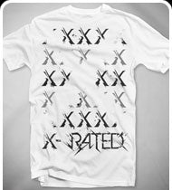 EXCISION -X Rated- T-Shirt - White