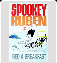 "Spookey Ruben""Bed & Breakfast"" Poster"