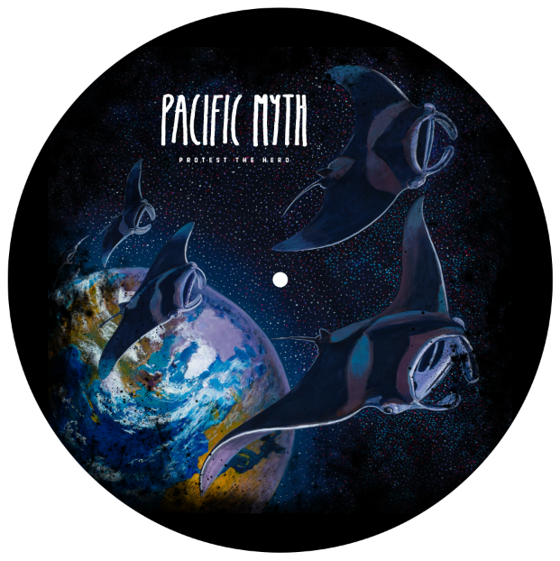Protest The Hero - Pacific Myth Vinyl Slipmat