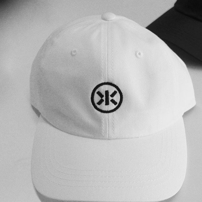 KEYS N KRATES -2016 Logo- White Twill Hat