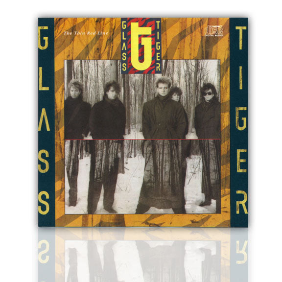 GLASS TIGER -Thin Red Line- CD