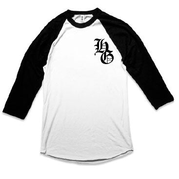 IAHG -OG- Baseball Shirt - Black/White