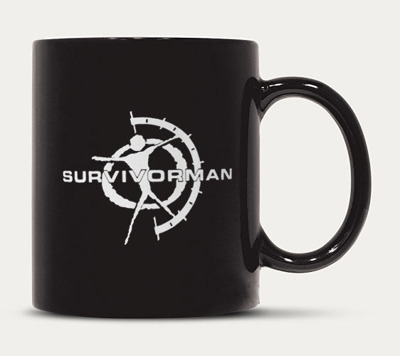 Survivorman - Coffee Mug - White Logo