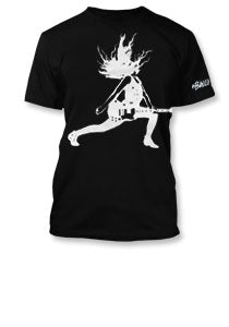 The Balconies Lunge Guys Black T-Shirt
