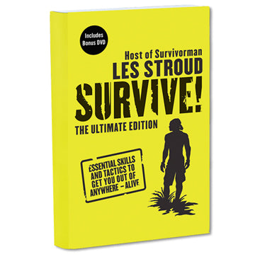 Survivorman Book - SURVIVE! The Ultimate Edition