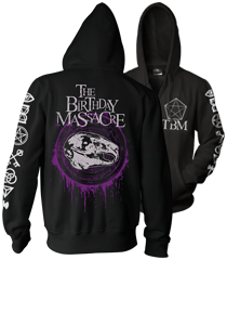 THE BIRTHDAY MASSACRE -Magic Circles- Black Hoodie
