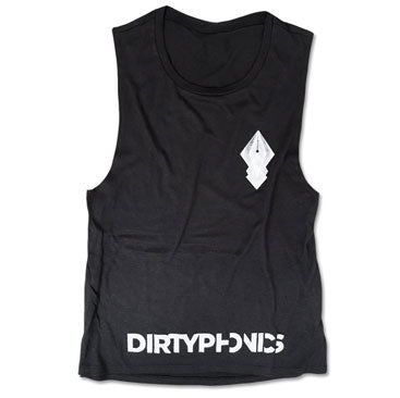 Dirtyphonics -Logo- Ladies Super Soft Muscle Tee