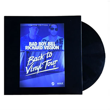 BACK TO VINYL - Tour EP Vinyl