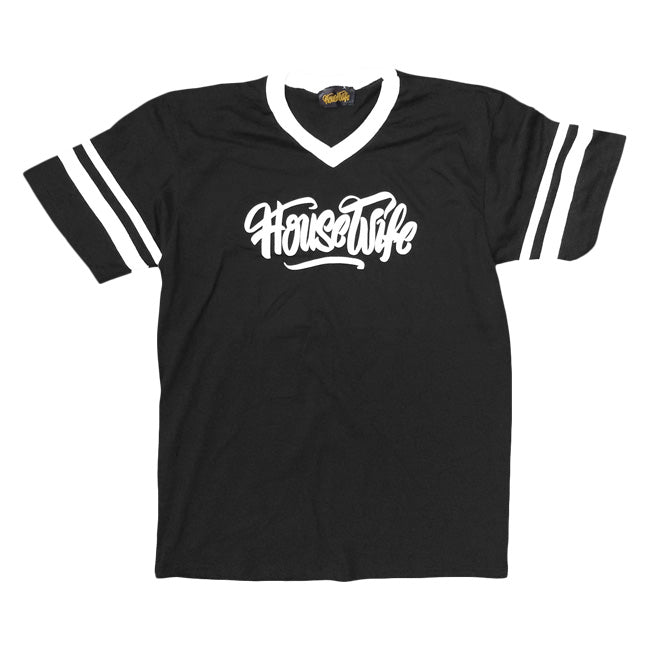 HOUSEWIFE All Day Tee - Black / White