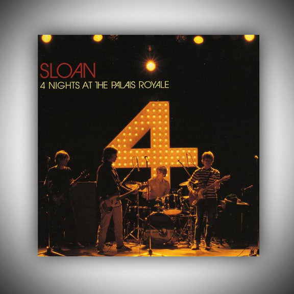 SLOAN 4 Nights At The Palais Royale - 2 Disc - 1999