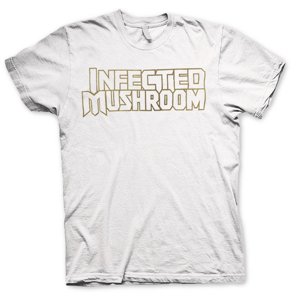 INFECTED MUSHROOM -Logo- White Tee