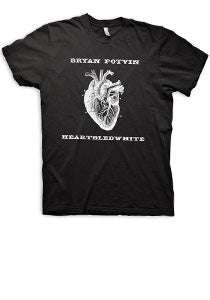 Bryan Potvin -Heartbled- Black Tee