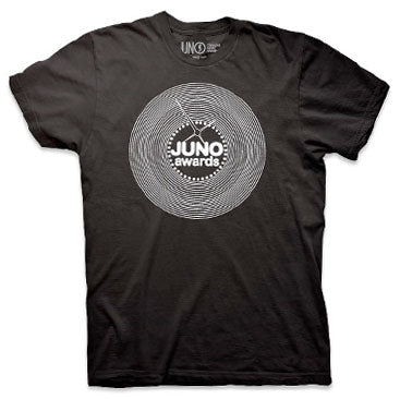 THE JUNO AWARDS 1978 Revival Guys Black T-Shirt