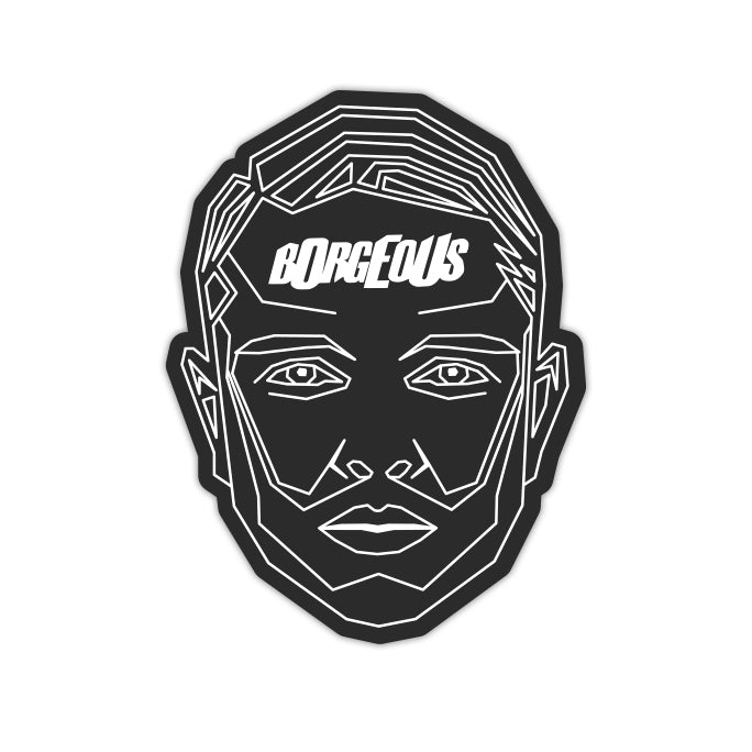Borgeous - Frame Face Sticker