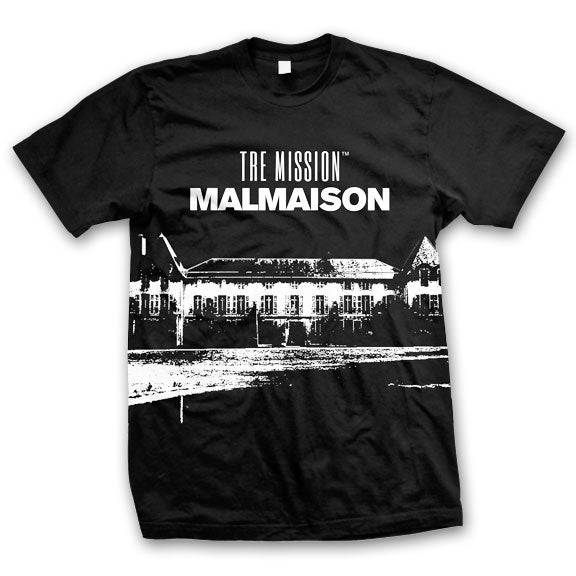 TRE MISSION -Malmaison- T-Shirt - Black