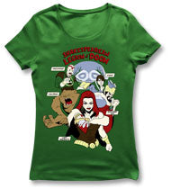 KILL SHAKESPEARE Legion Of Doom Girls T-Shirt