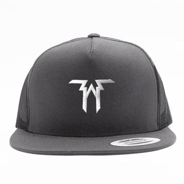 Five Alarm Funk - Logo - White on Gray Trucket Hat