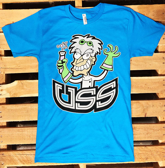 U.S.S. -Mad Scientist- Blue T-Shirt