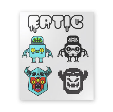 Eptic Sticker Sheet