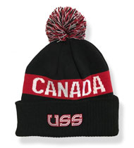 U.S.S. - Oh Canada - Custom Knit Hat