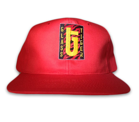 GLASS TIGER Red -Logo- Hat