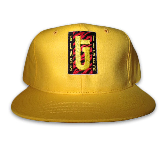 GLASS TIGER Yellow -Logo- Hat