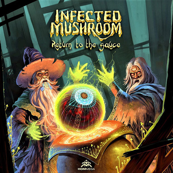Hommega - Infected Mushroom - Return To The Sauce CD - 2017