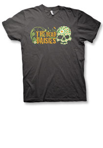 The Dead Daisies - Flower Skull - Premium Charcoal Tee