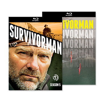 Survivorman - Season 5 BLU-RAY