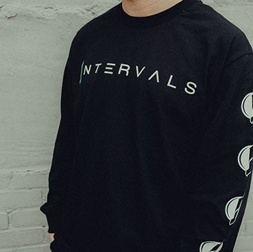 Intervals - Skates Long Sleeve Shirt - Black
