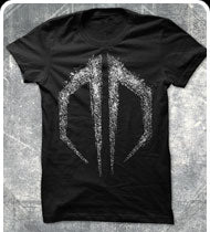EXCISION -Destroid Grunge- Black T-Shirt