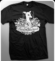 SARAH BLACKWOOD -Bambi- T-Shirt - Black