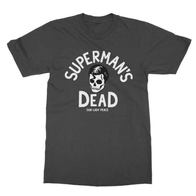 Our Lady Peace - Superman's Dead Tee - Charcoal