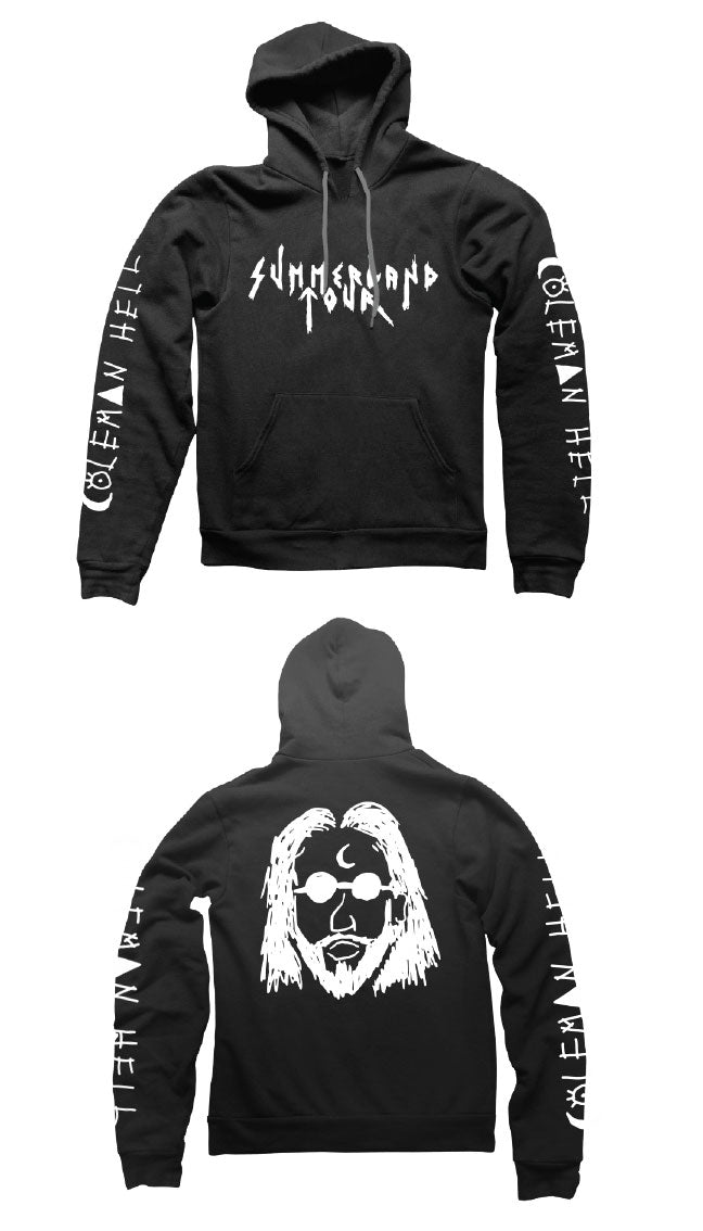 Coleman Hell - Face - Pullover Hoodie