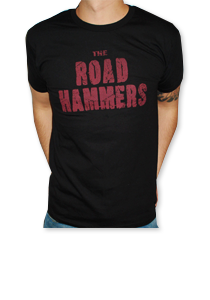 THE ROAD HAMMERS Wings Guys Black Shirt