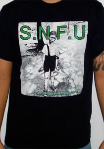 SNFU And No One Wanted To Play Guys Shirt - Black