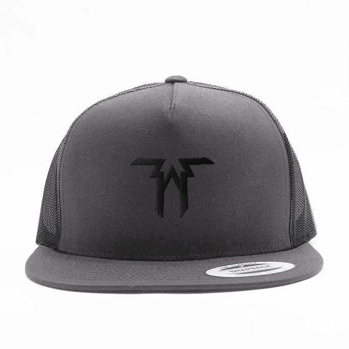Five Alarm Funk - Logo - Black on Gray Trucker Hat