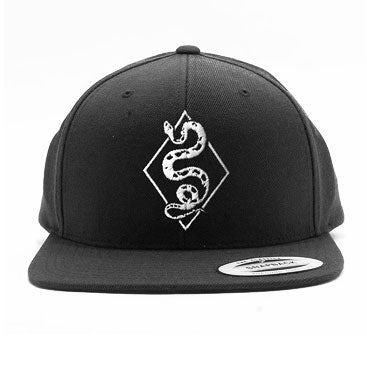 Black Label Snapback Hat