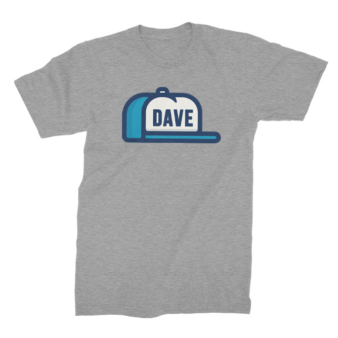 DAVE - Hat Tee - Heather Gray